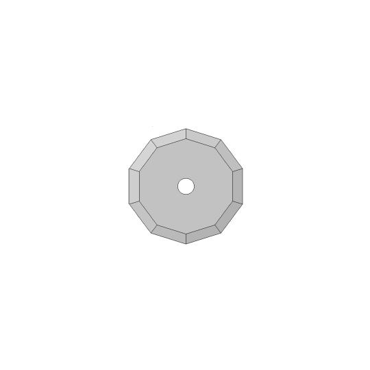 Blade 01060217 Atom compatible - ø 36 mm - ø inside hole 10 mm