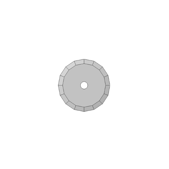 Blade Atom compatible - 01060220 - ø 36 mm - ø inside hole 5 mm