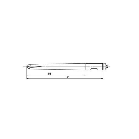 Blade 47420 - Max. cutting depth 55 mm