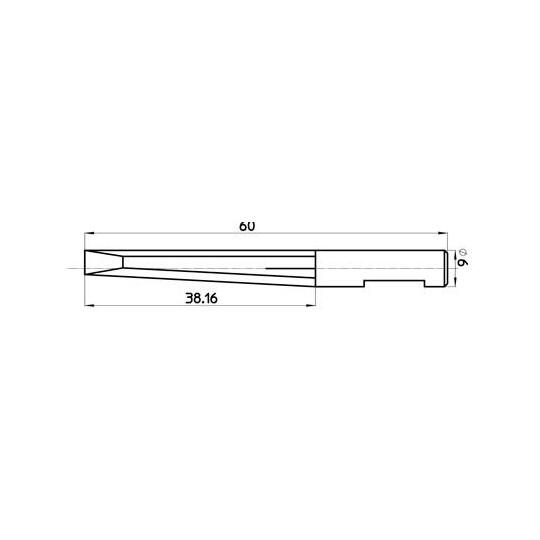 Blade 45301 - Maxi. cutting depth 39 mm
