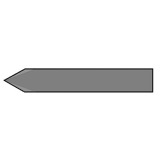 Blade Zund compatible Z101 - Max. cutting depth 16 mm