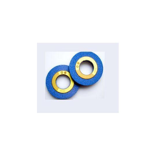 Pair cylindrical grinding stone 100x10x70 azure camoga (cn412-cn512)