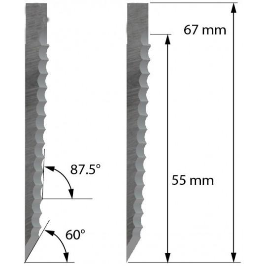 Blade Z66 - Max cutting depth 55 mm