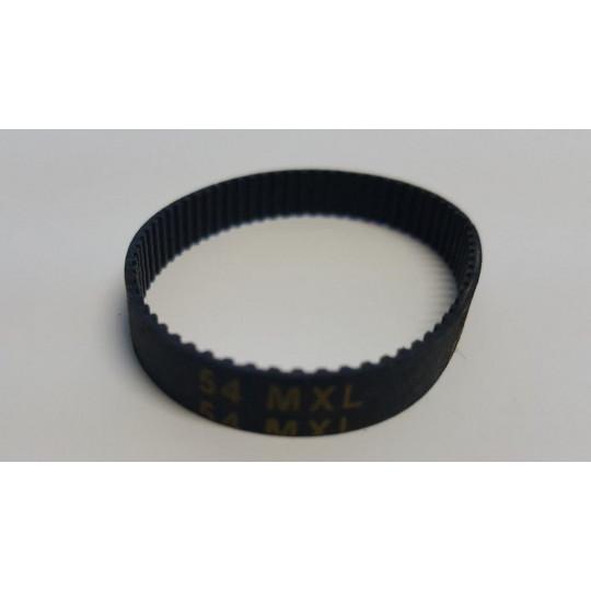 Drive belt 54 tooth MXL - 432 - 801120 - Ø 37 mm - Lenght 9.5 mm