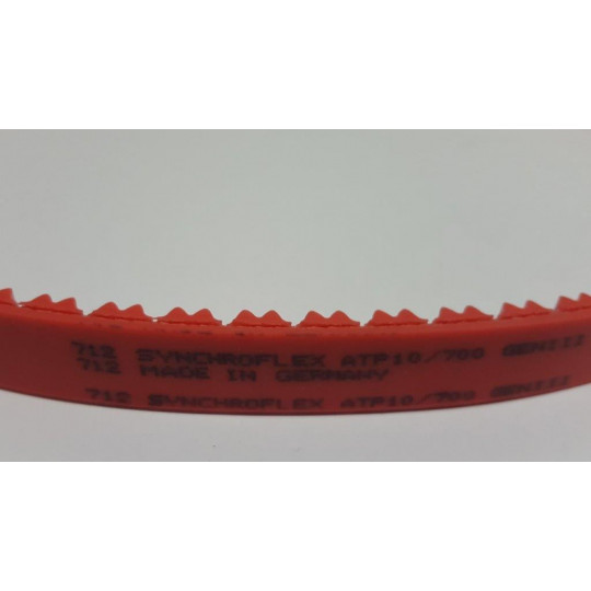 Drive belt red 712
