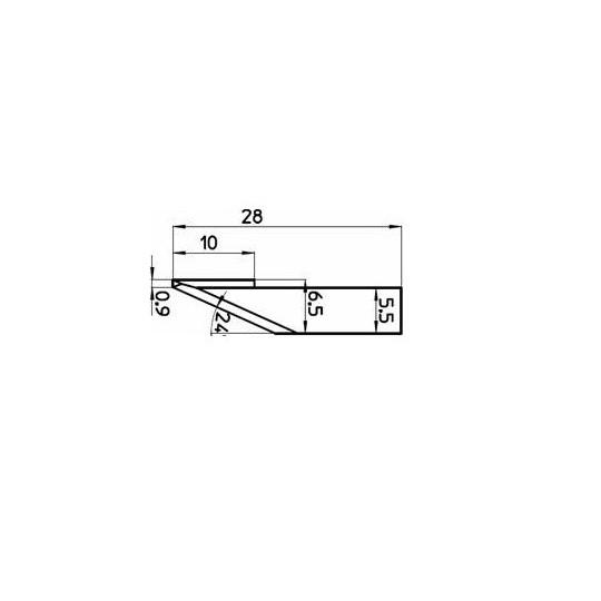 Blade 44460 - 01030782 - Max. cutting depth 10 mm