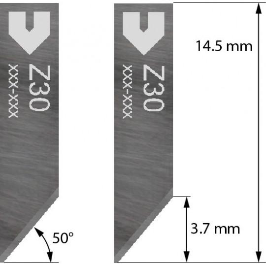 Blade compatible with Zund - 3910330 - Z30