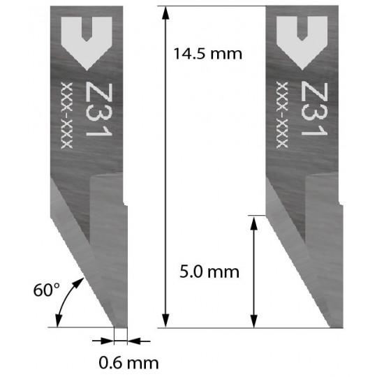 Blade compatible with Zund - 3910331 - Z31