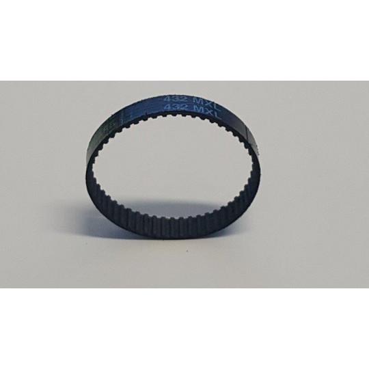 Drive belt 432 MXL for vibrating group - Ø 6.5 mm