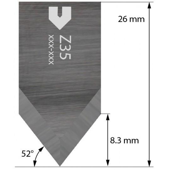 Blade compatible with Zund - 4800071 - Z35