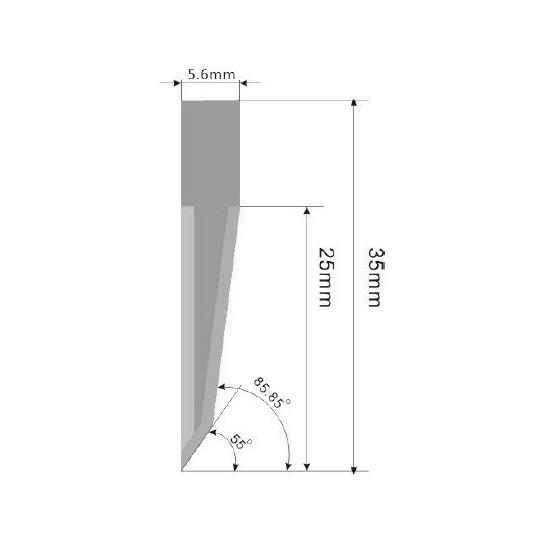 Blade E27 - Max. cutting depth 25 mm