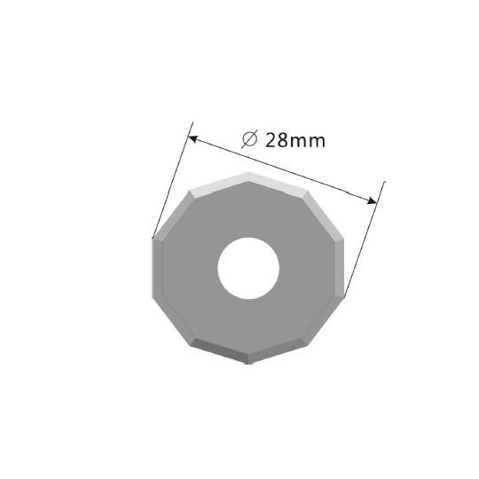 Blade E51 - Max. cutting depth 5.5 mm