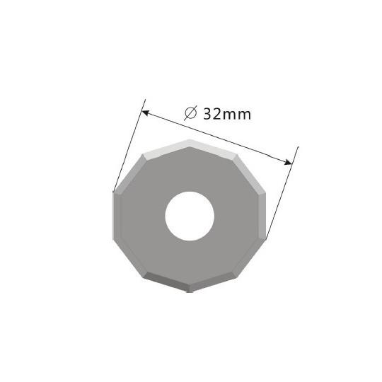 Blade E52 - Max. cutting depth 7.5 mm