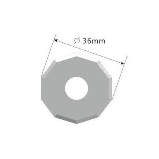 Blade E53 - Max. cutting depth 9.5 mm