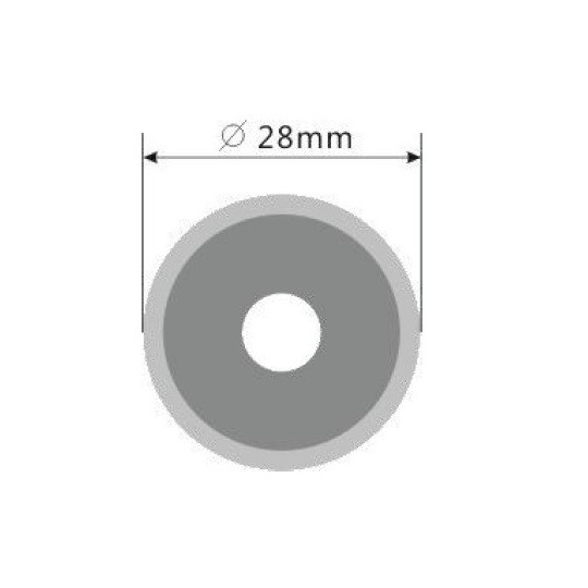 Blade E57 - Max. cutting depth 5.5 mm