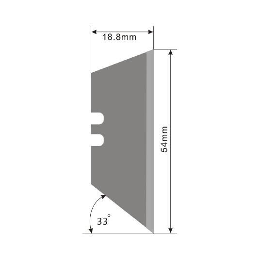 Blade E74 - Max. cutting depth 20 mm