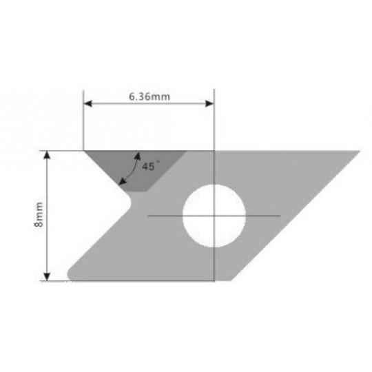 Blade E75 - Max. cutting depth 4 mm