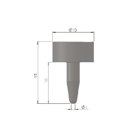 Punching E81 - Ø 1 mm