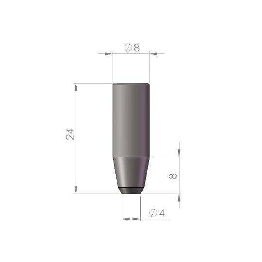 Punching E84-4 - Ø 4 mm