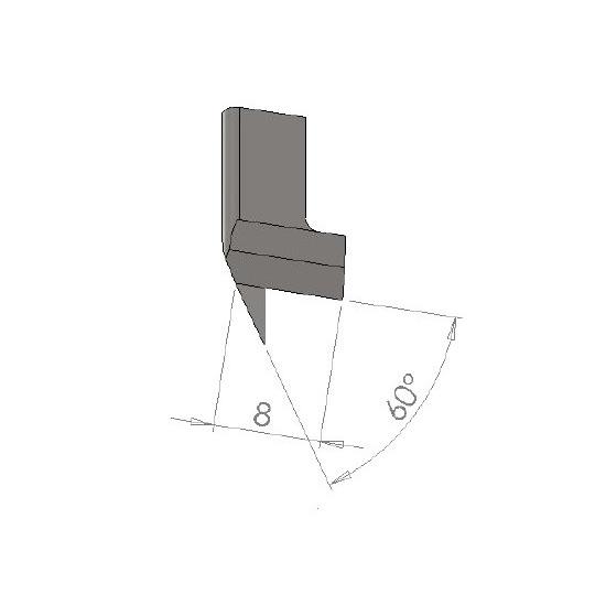 Punching EPV3 - Lenght 8 mm