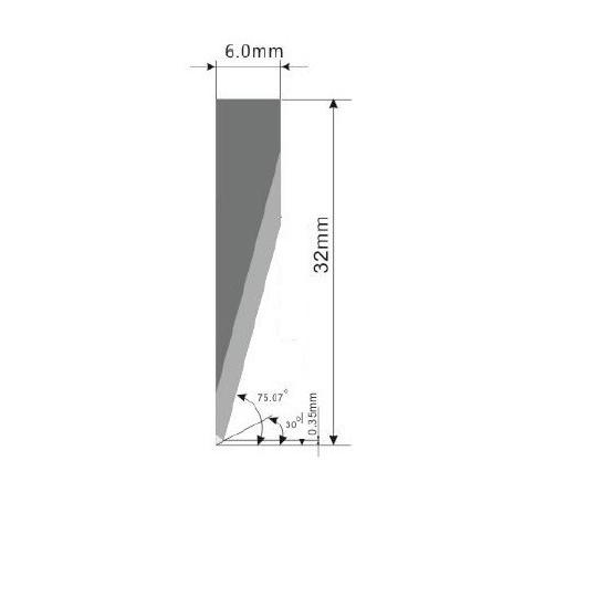 Blade E18 - Max. cutting depth 19 mm