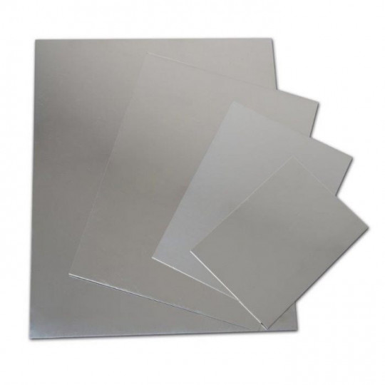 Zinc sheet - Dim. 50 x 50 x 1