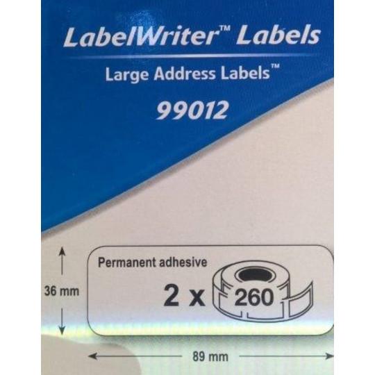 Label 89 x 36 mm