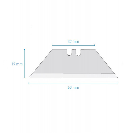 Blade J351 KNF A1546 compatible - Max. cutting depth 16 mm