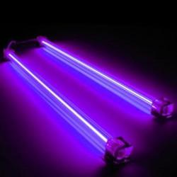 Neon blu ultravioletto