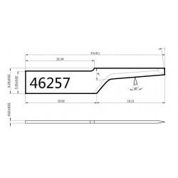 Lama compatibile Atom - 46257 - spessore di taglio fino a 16mm
