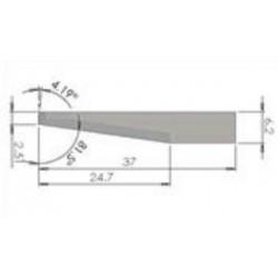 Lama compatibile iEcho - E62 - spessore di taglio fino a 24.7mm