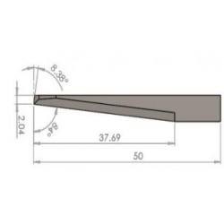 Lama compatibile iEcho - E63 - spessore di taglio fino a 37.69mm