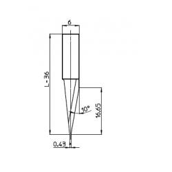 Lama 48309 - spessore di taglio fino a 16mm