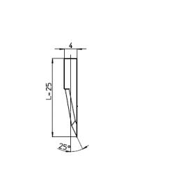 Lama 45269 - spessore di taglio fino a 14mm