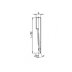 Lama 45118 - spessore di taglio fino a 20mm