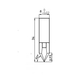 Lama compatibile Protek - K4415 - 43905 - spessore di taglio fino a 14mm
