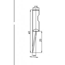 Lama compatibile con Summa - 5009834 - 48470 - spessore di taglio fino a 20mm