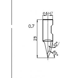 Lama 48615 - spessore di taglio fino a 10mm