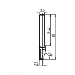 Lama compatibile con Talamonti - 48264 - spessore di taglio fino a 10mm