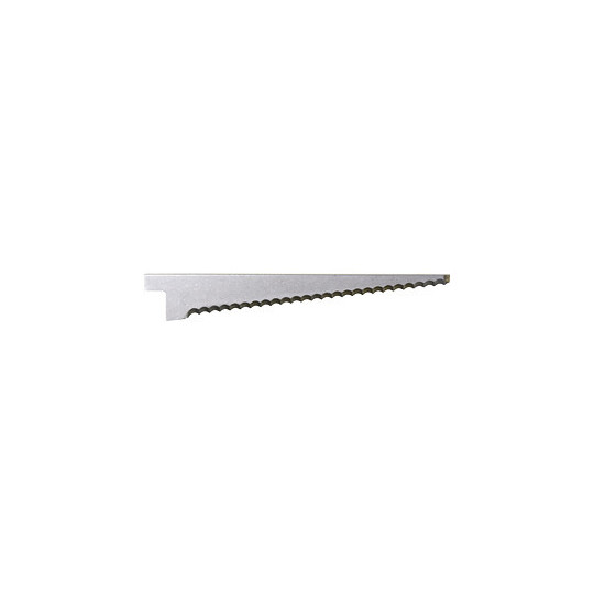 BLD-SF513 - Single edge flat serrated blades